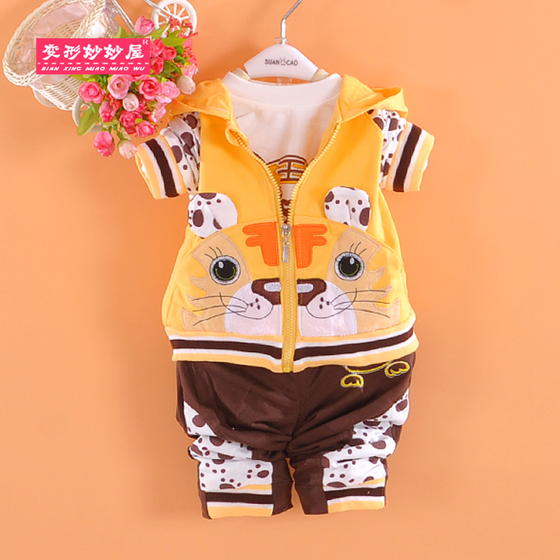 2016 new children's clothing boys 0-1-2-3-year-old childrenwear autumn male baby parure baby clothes in spring and autumn children clothes
