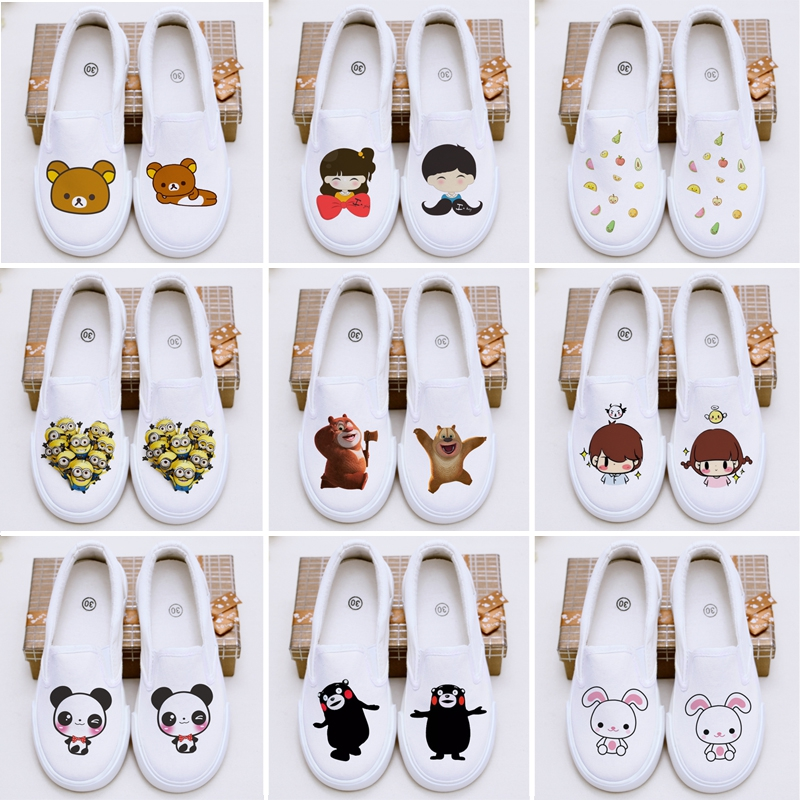 2016 new children's shoes canvas shoes men shoes white sneakers casual shoes paternity shoes girls shoes autumn shoes student shoes