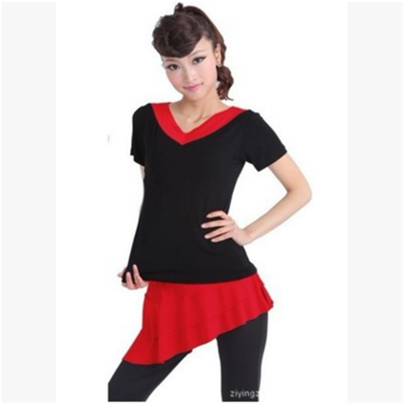 2016 new spring and summer square dance clothing performance clothing dance clothes suit square dance square dance clothing clothes and latin