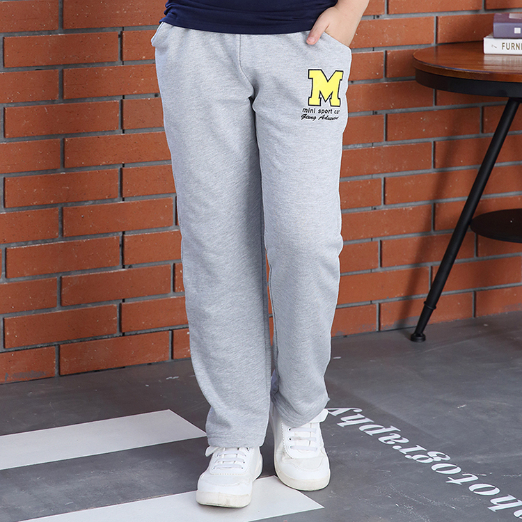 2016 spring and autumn paragraph boy pants big virgin boy sports pants casual pants trousers korean children's clothing