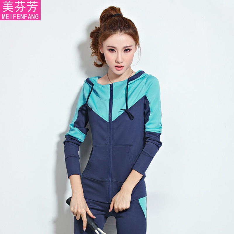 2016 spring and autumn piece sweater korean version of the adolescent girls middle school students new casual sports suit