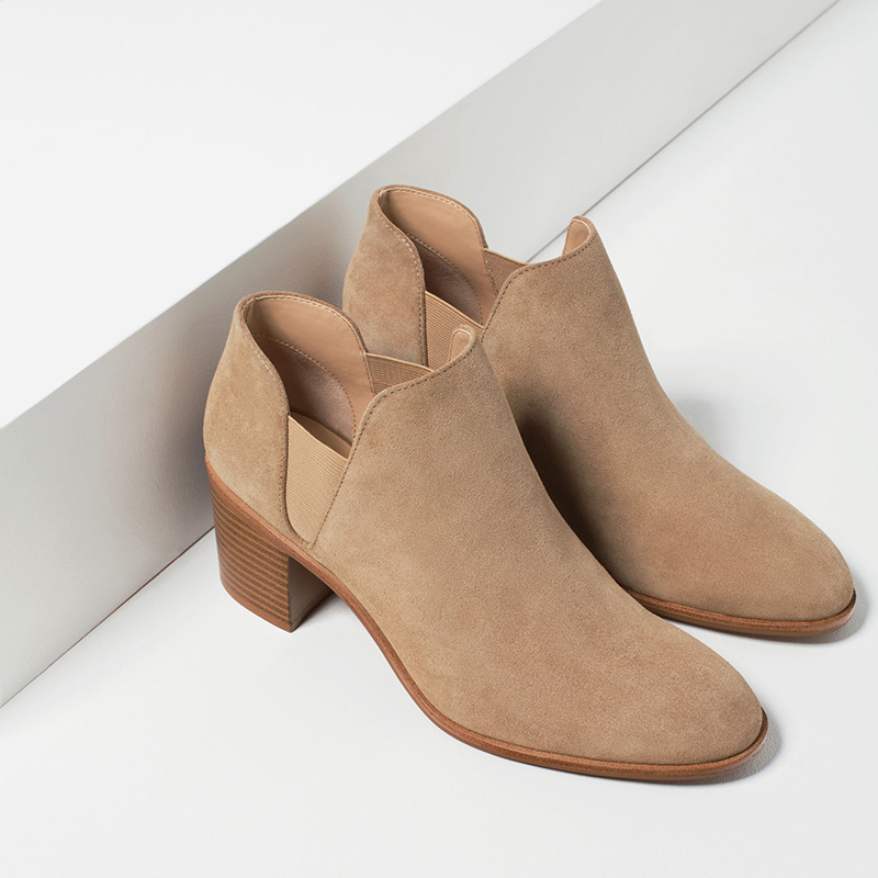 Get Quotations · 2016 spring and autumn single shoes nude color with boots  naked female autumn and winter in
