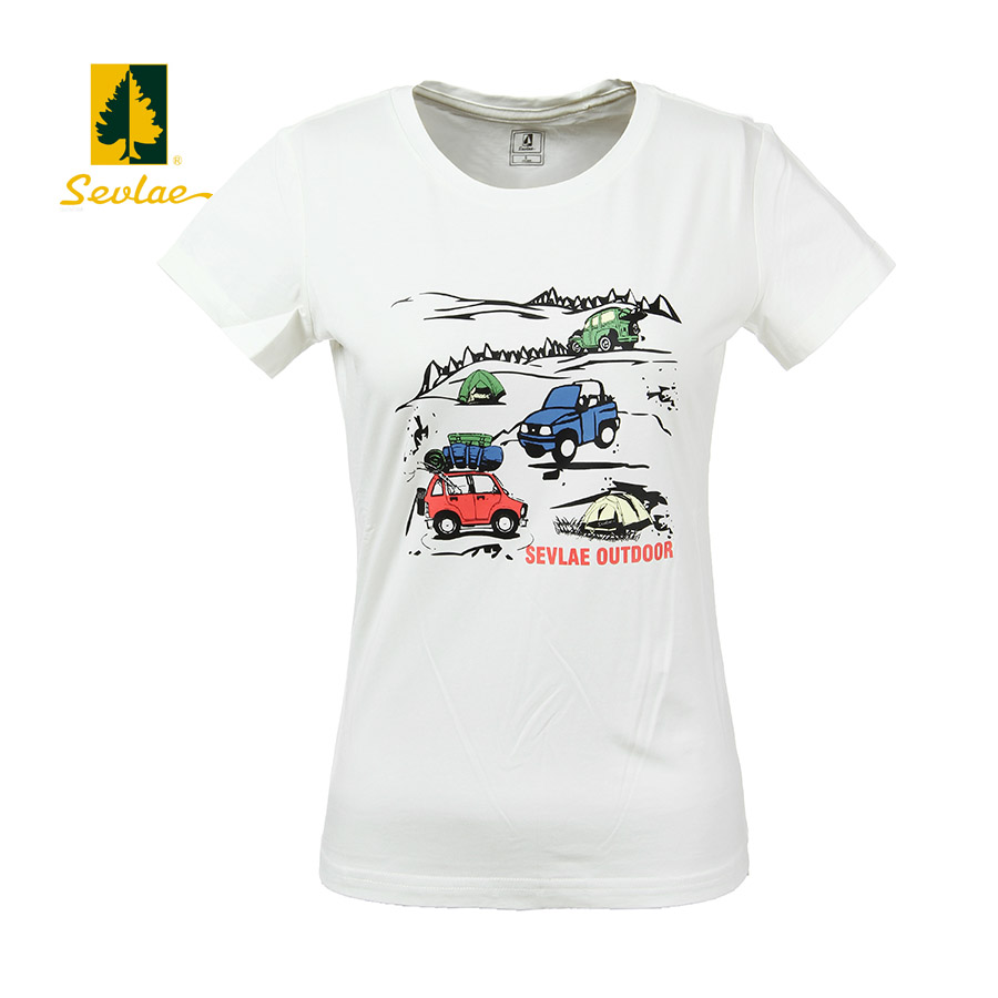 2016 spring and summer sevlae shengfu lai urban outdoor women's casual t-shirt 962284 6675