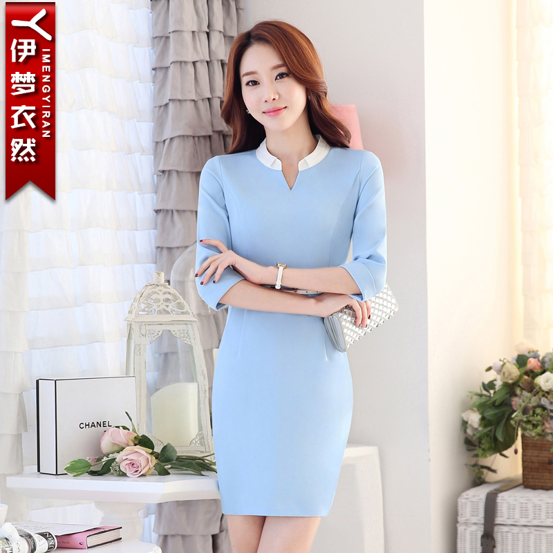 2fcf9251066 Get Quotations · 2016 summer new short sleeve shirt women wear women s skirt  suits overalls dress shirt teachers office