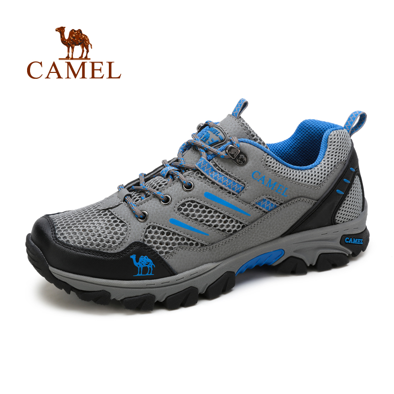 Camel camel men's 2016 new outdoor leisure mesh shoes outdoor sports shoes
