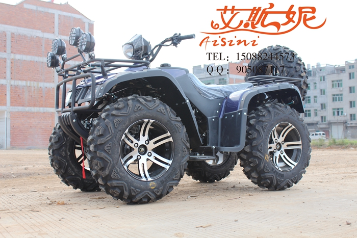 250 big hummer atv zongshen cooled 14 inch aluminum wheels with spare winch motocross longding