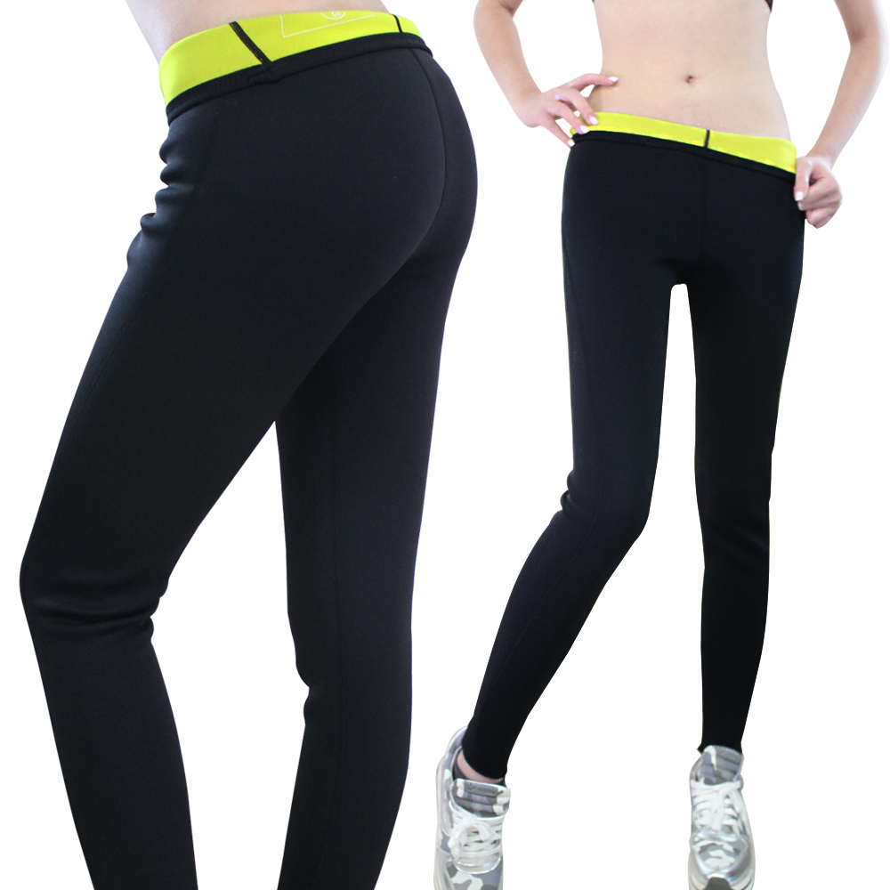 Selling in europe and america slim body shapers burst sweat pants (trousers)