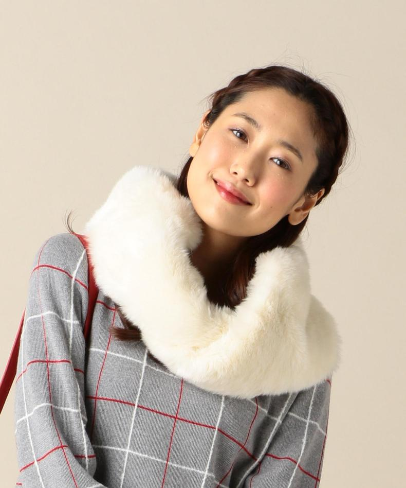 Onward 'cello' pieces of japanese soft artificial rabbit warm autumn and winter thicker section cute lady scarf around the towel