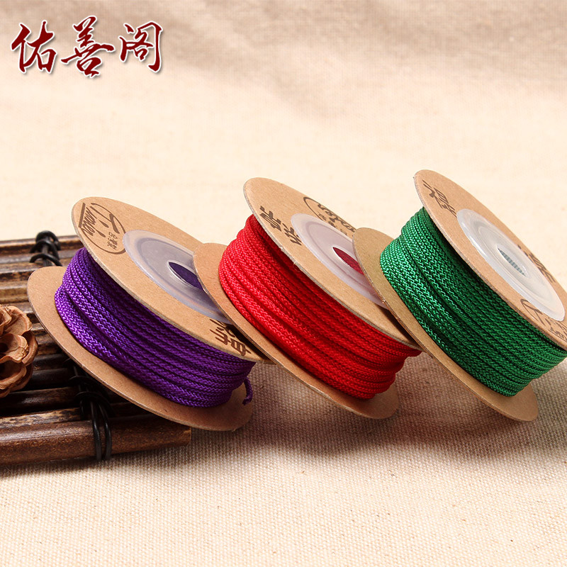 2mm taiwan imported ti cotton diy handmade beaded wire rope bracelet braided wire rope no stretch line
