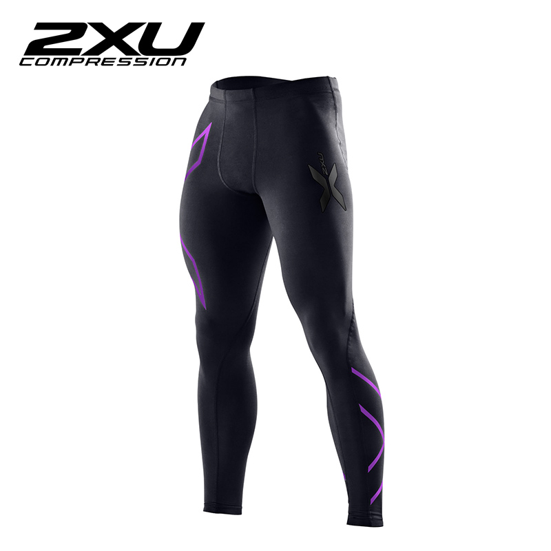 2xu run with the money men pants male sports pants fitness pants riding running compression perspiration wicking pants MA1967B