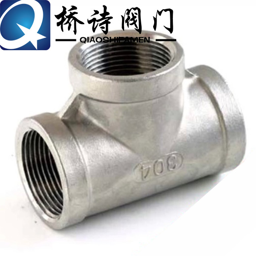 304 stainless steel threaded tee tee tee 316 wire port tee tee thread fittings/inner tooth threaded tee/inner wire