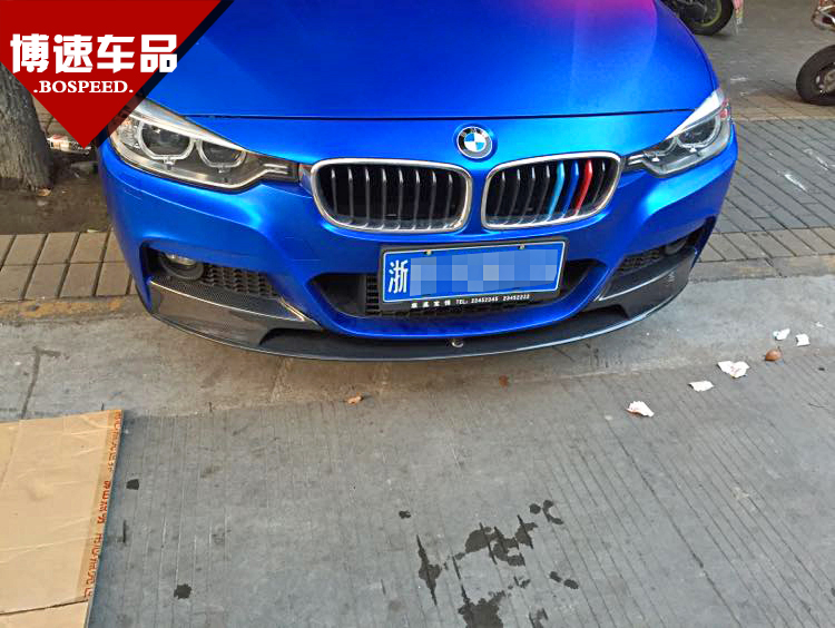 328 carbon fiber bmw 320li f30 f35 carbon fiber front lip after lip after 330 carbon fiber side skirts spoiler surrounded