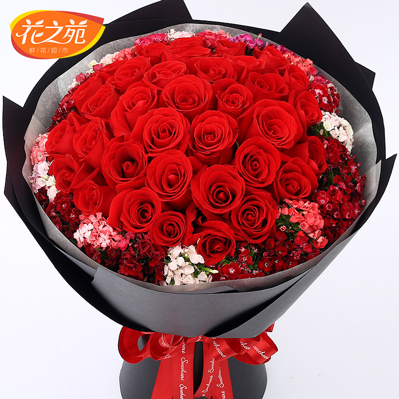 33 pink champagne white rose flowers flowers tianjin tianjin flower delivery beijing shanghai flower delivery flower shop in guangzhou and chengdu