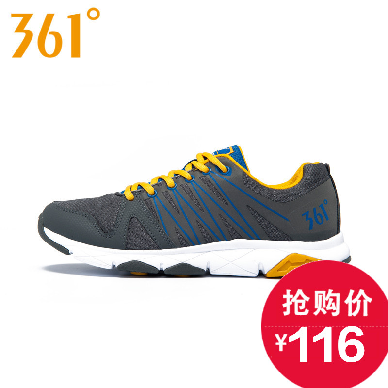 361/361 degrees in summer new men's running shoes male sports shoes lightweight running shoes comprehensive training shoes 571534404