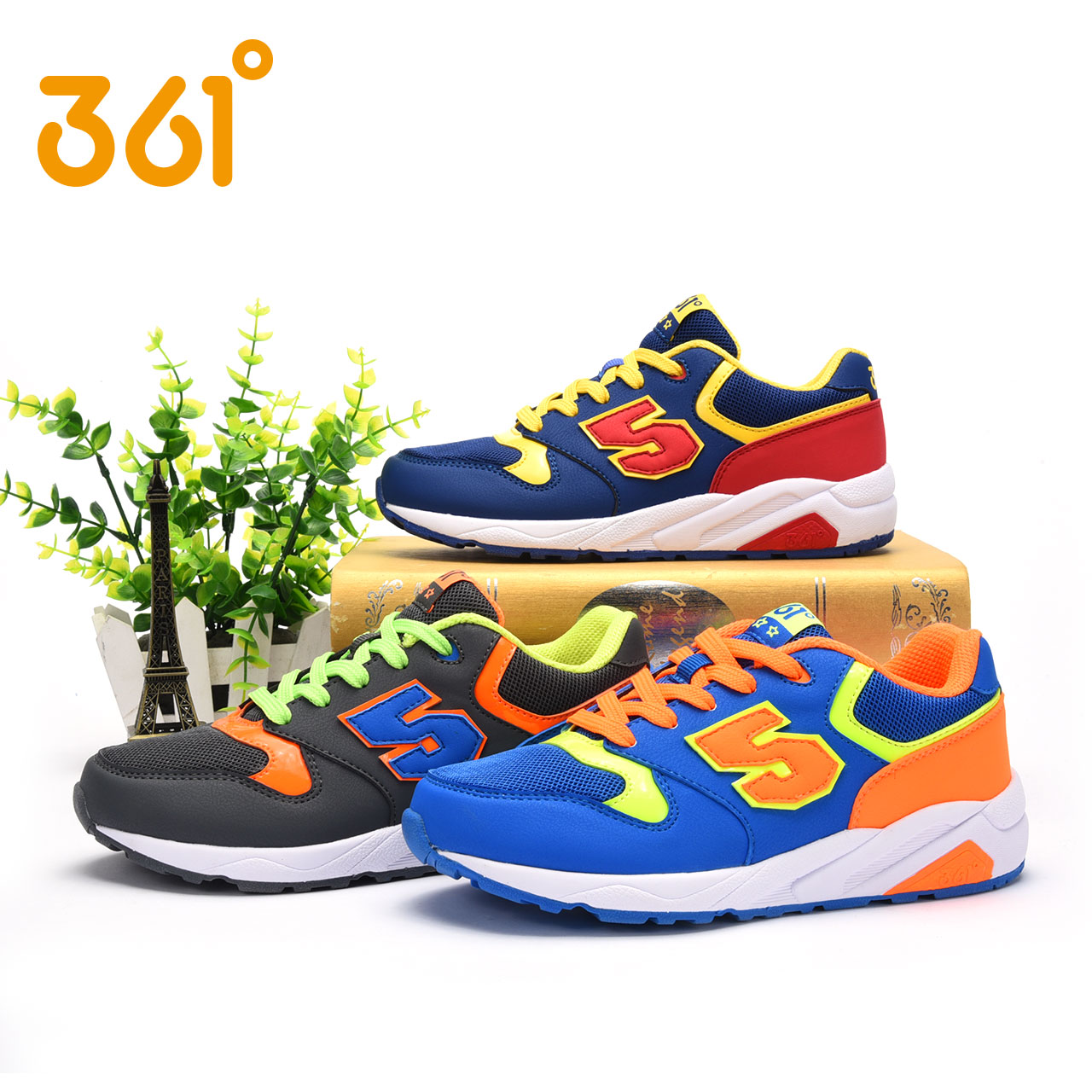 361 autumn sports shoes zhongshan university children's shoes boys winter 2016 new breathable mesh running shoes 361 degrees