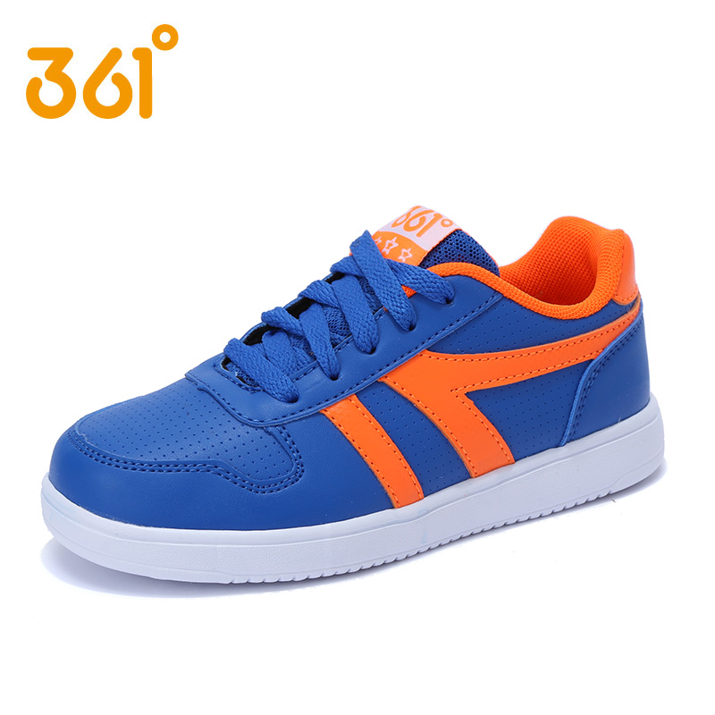 [361 degrees shoes boys shoes korean 2016 spring and autumn children's sports shoes student shoes white shoes student