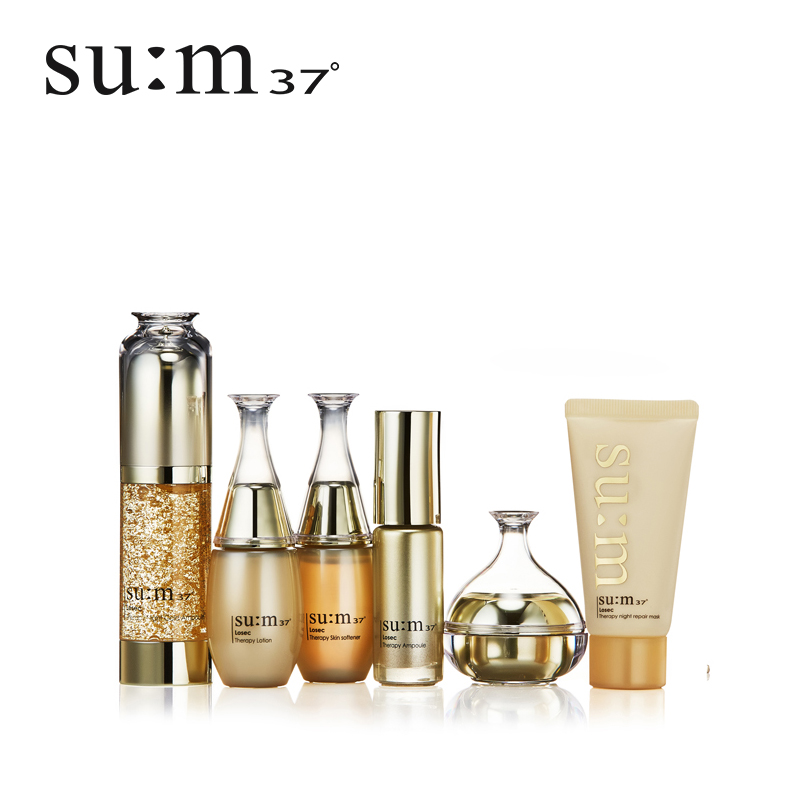 37 soviet secret yu yan zhen enjoy night gold ampoule care essence gift set 6 sets of breathing rome kit