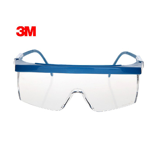 3m 1711 Anti-shock Wind Uv Protective Glasses Riding Eyewear Goggles Blue Frame Business & Industrial