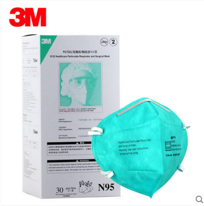Genuine 9132 Flu Buy Masks M 3 N95 Respirator Dust Pm2 Anti
