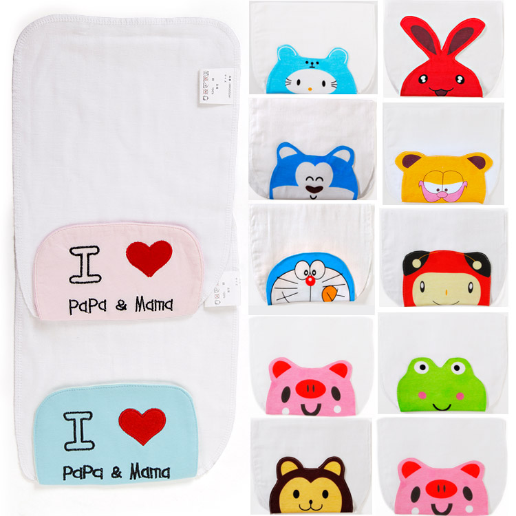 4 layers of cotton gauze across the hanjin scapegoat towel sweatbands cotton baby towel more styles available