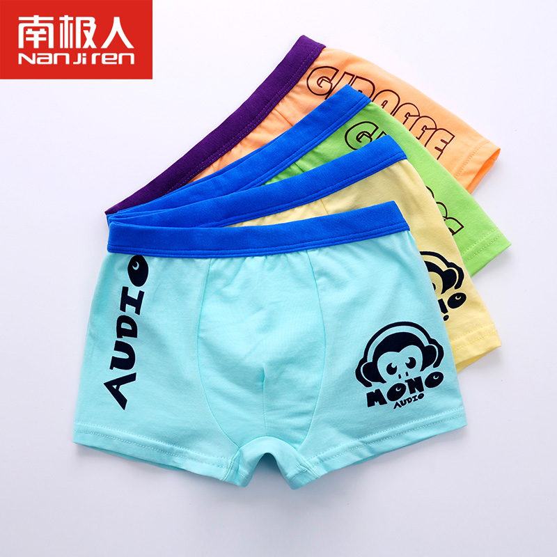 e384cff7eb0d Get Quotations · 4 loaded antarctic children boys cotton underwear boxer  briefs boxers baby girls fall and winter
