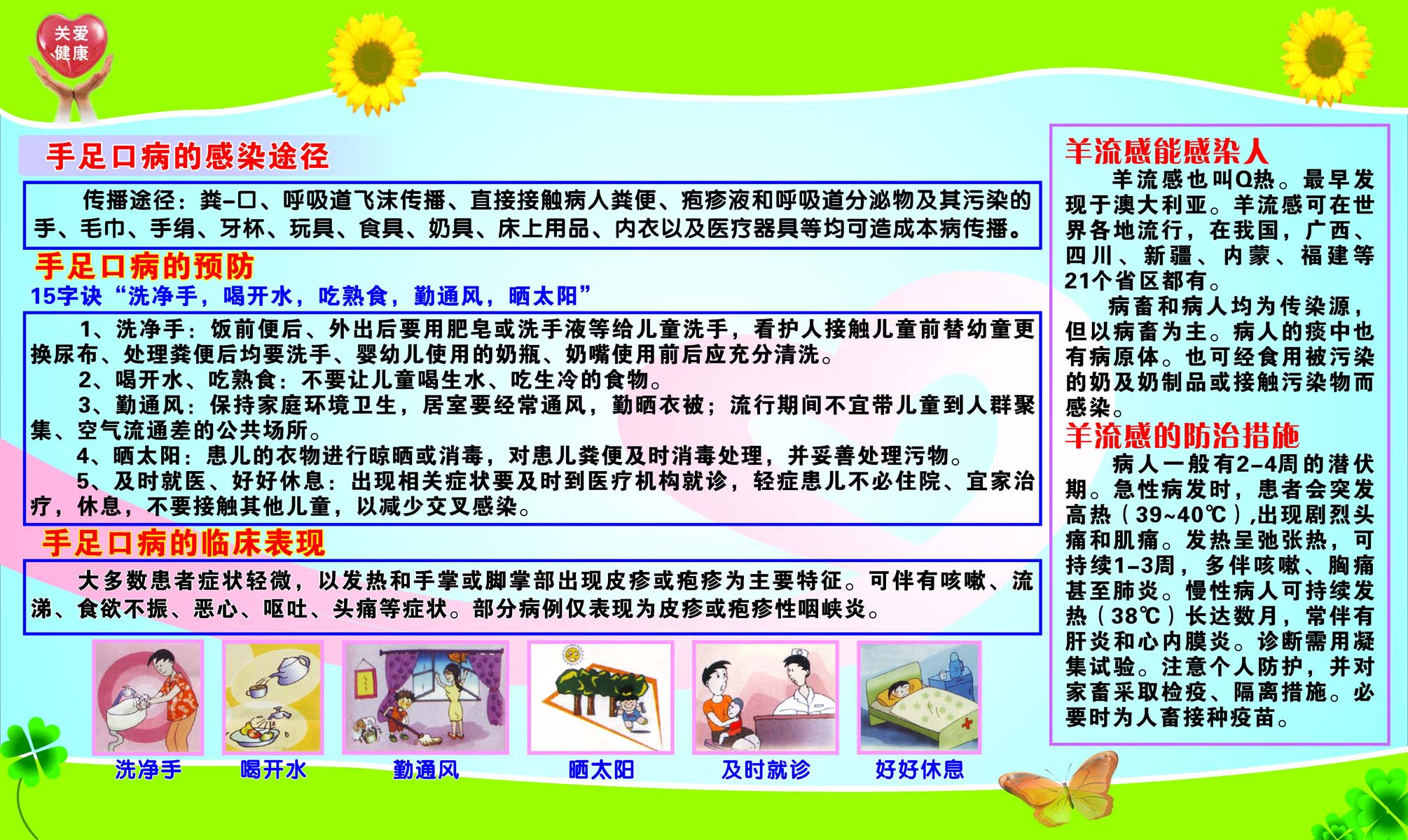 41 common diseases flipchart poster panels 125 hfmd poster poster poster printing