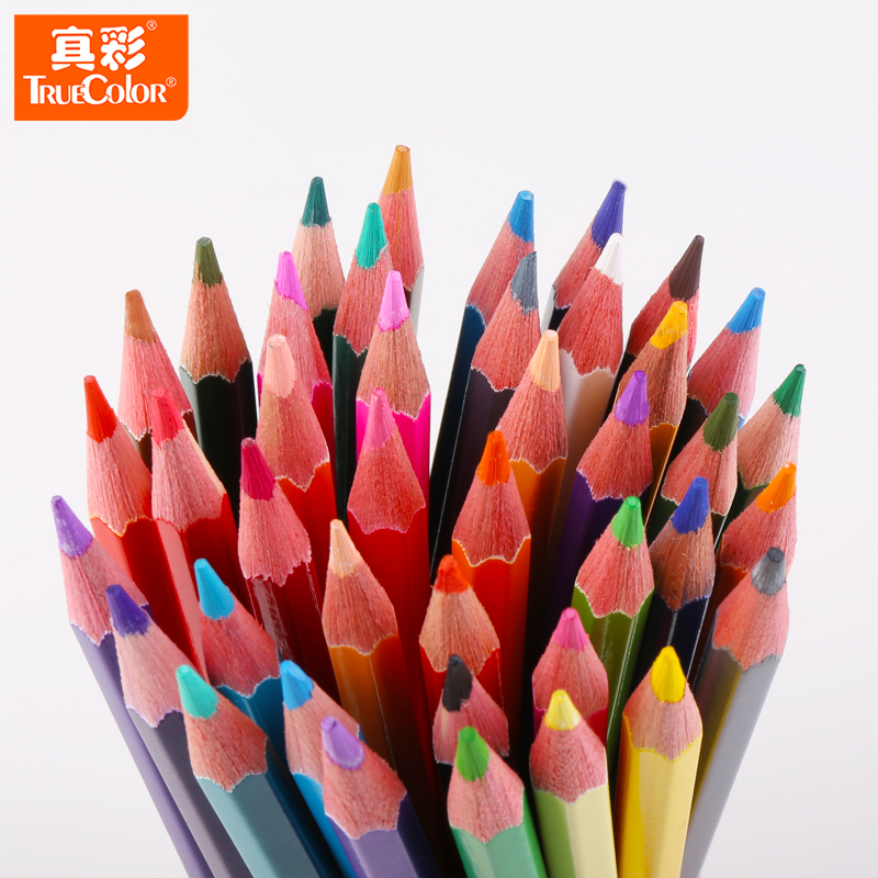 4576-48 water-soluble tft true color colored pencil color iron boxed 12/24/36 color water soluble color of lead free shipping