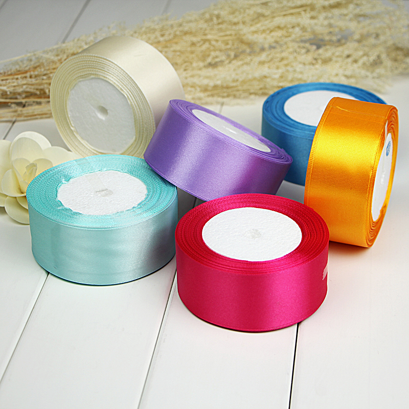 4cm- 5CM wide ribbon color ribbon wedding ribbon ribbon ribbon satin ribbon roll diy wedding package sideband