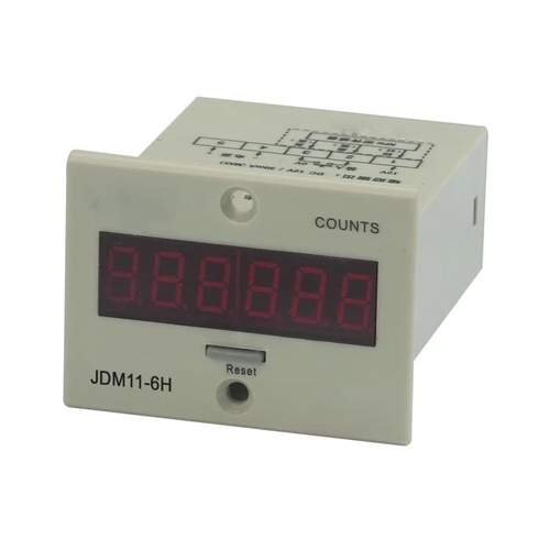 6 with power and memory jdm11-6h digital electronic counter cumulative counter punch bed industrial counters