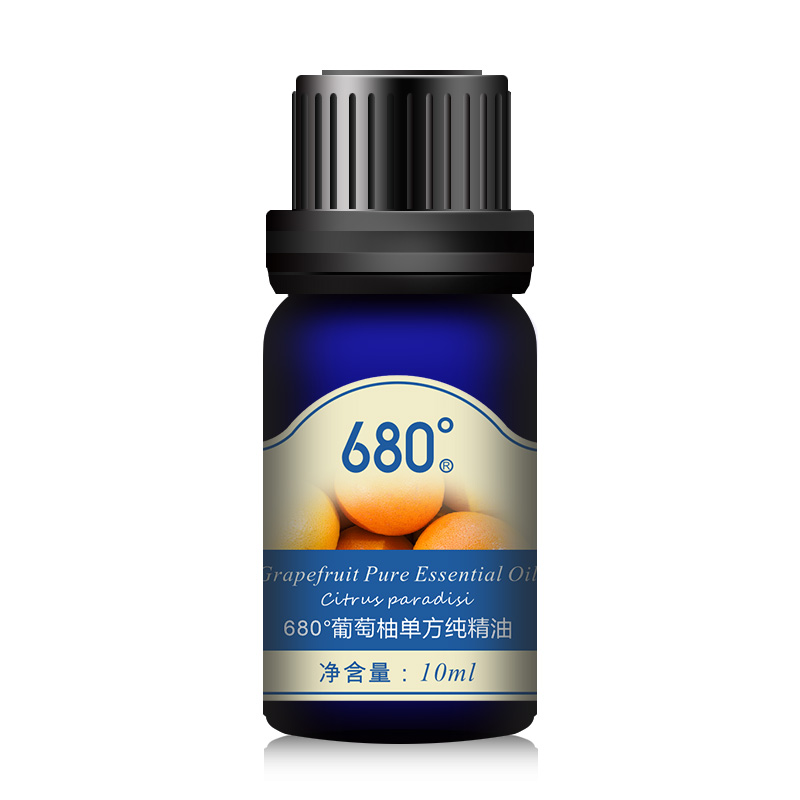 680 degrees unilateral pure essential oils of grapefruit essential oil 10 ml aromatherapy essential oils aromatherapy massage official direct sale free shipping