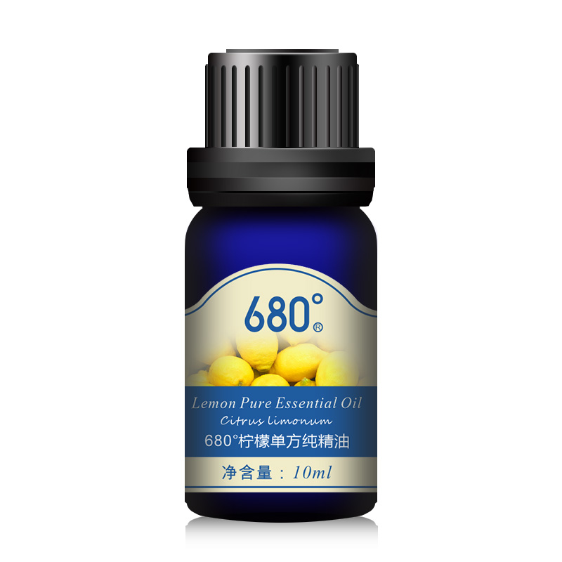 680 degrees unilateral pure essential oils of lemon essential oil 10 ml aromatherapy essential oils aromatherapy massage official direct sale free shipping