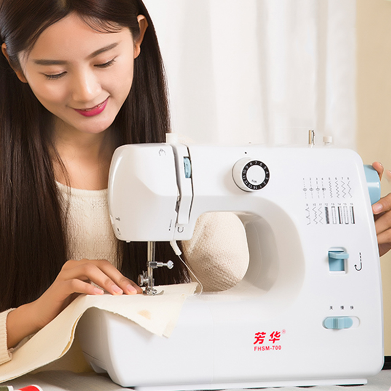 700 youth household electric sewing machine desktop multifunction eat thick catcher foot mini electric sewing sewing giveaway