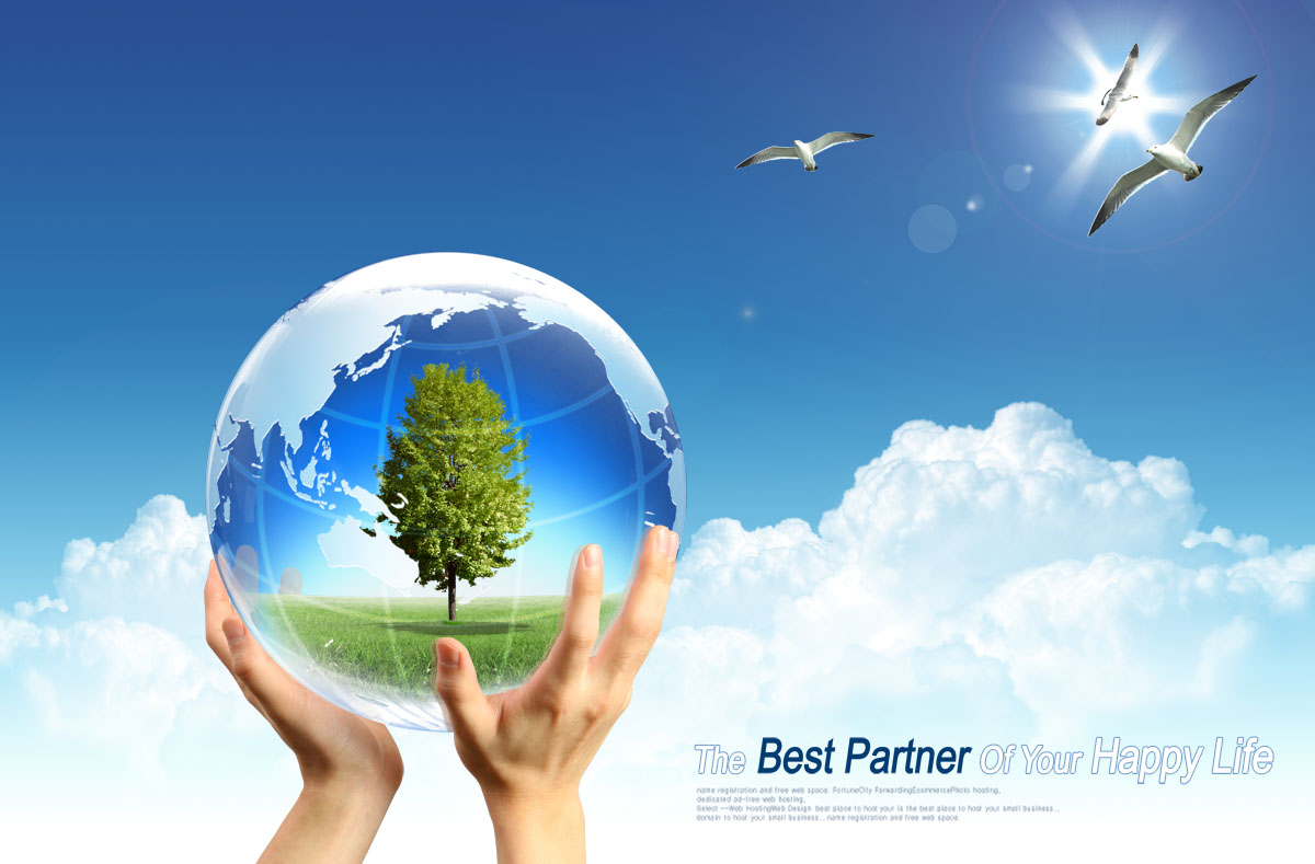752 poster panels inkjet printed 376 holding earth blue sky background environmental charity poster map
