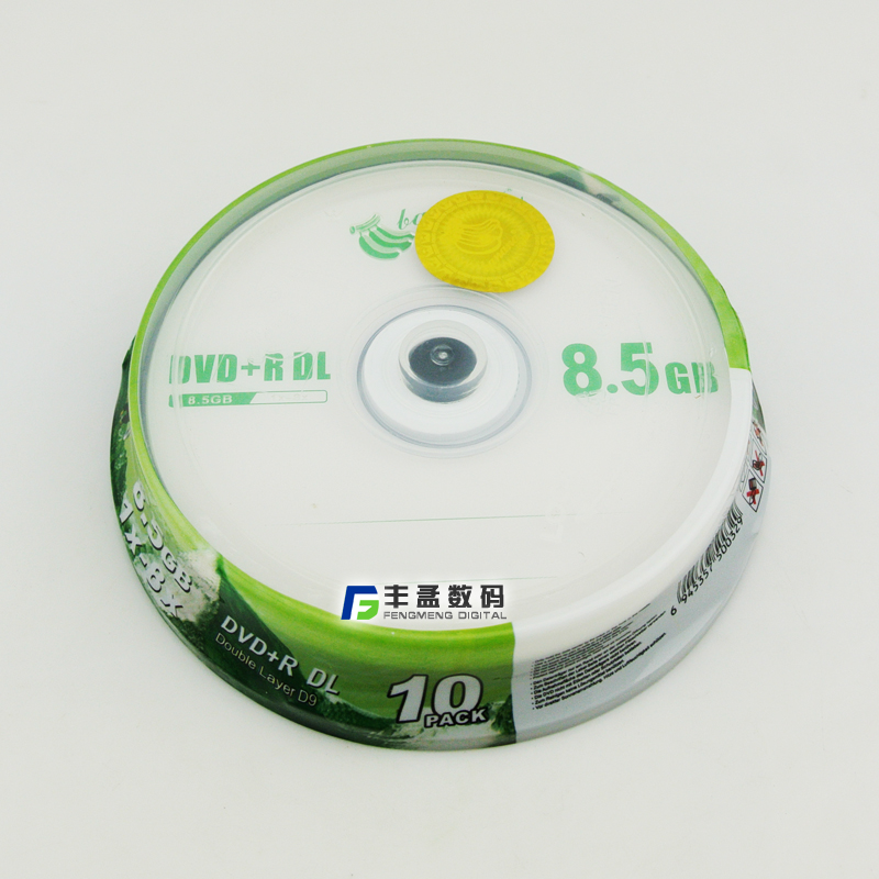 8.5g banana large capacity optical disc dvd recordable disc cd blank discs 10 loaded car dvd