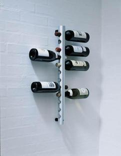 8 hole eight mounted stainless steel wine rack wall mounted wine rack wine rack creative wine rack wine rack hanging bar wine rack home Decoration