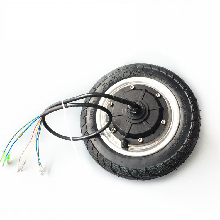 8 refit inch toothless 24v36v brushless hub motor motor electric scooter balanced car motor with solid round