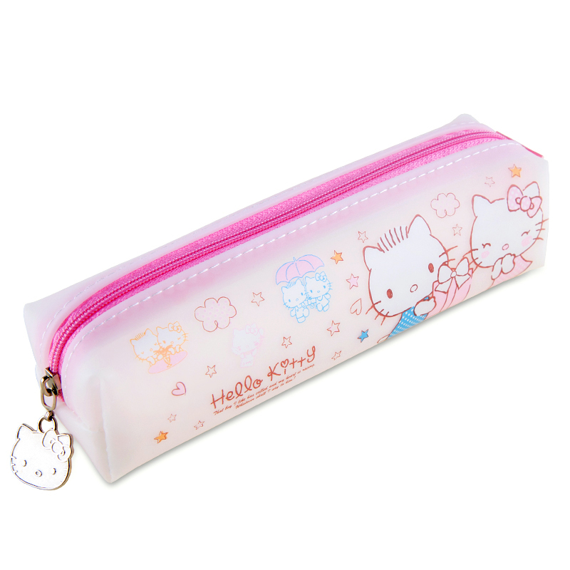 A broad range of hello kitty korean stationery simple pencil pencil box large capacity pencil student stationery small fresh jelly