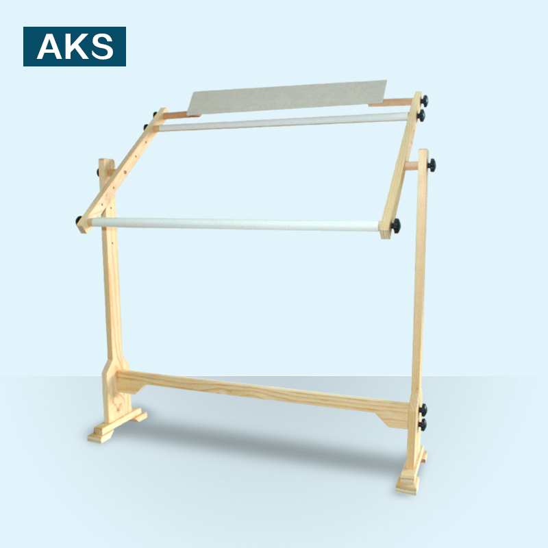 A-ks stitch stitch embroidery frame adjustable shelf large solid wood frame bracket sub wooden embroidery frame stretched embroidery tool