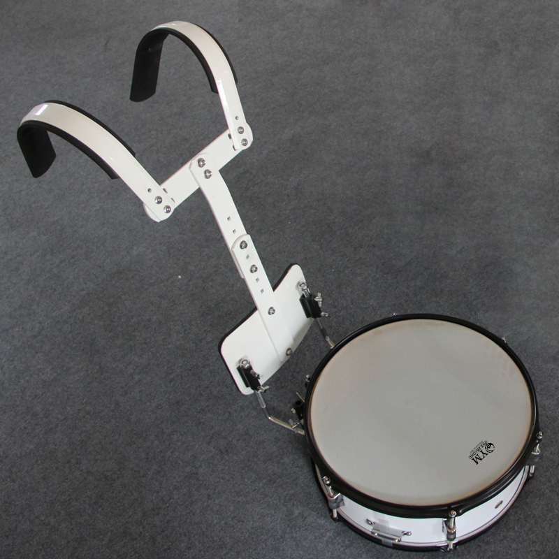A second instrument triple backrest backrest drum marching drum snare drum snare drum army drum drum team to send accessories