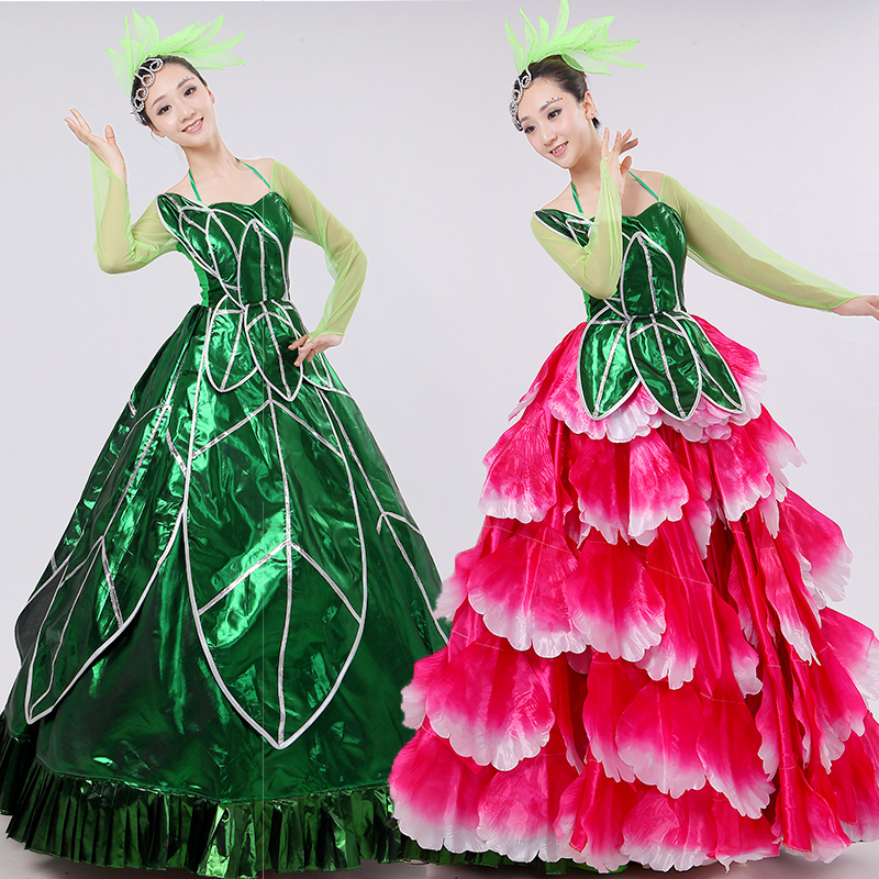 16dbac58cdbd get quotations a two wear clothes 2016 new stage opening dance big skirt  modern dance costume