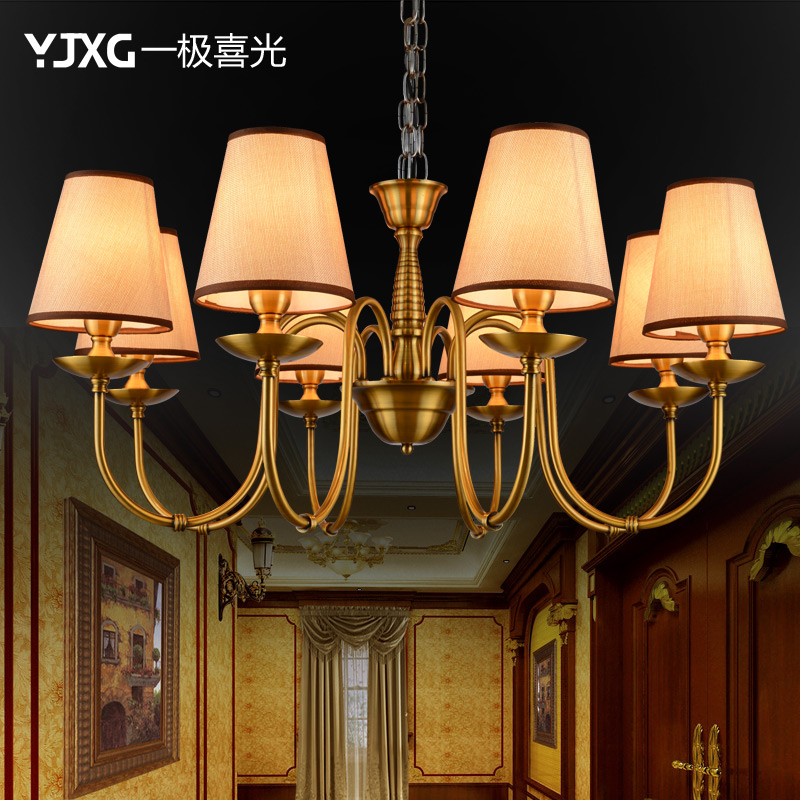 A very happy light chandelier european pastoral jane european american minimalist bedroom lamp retro living room lights room lights restaurant lights