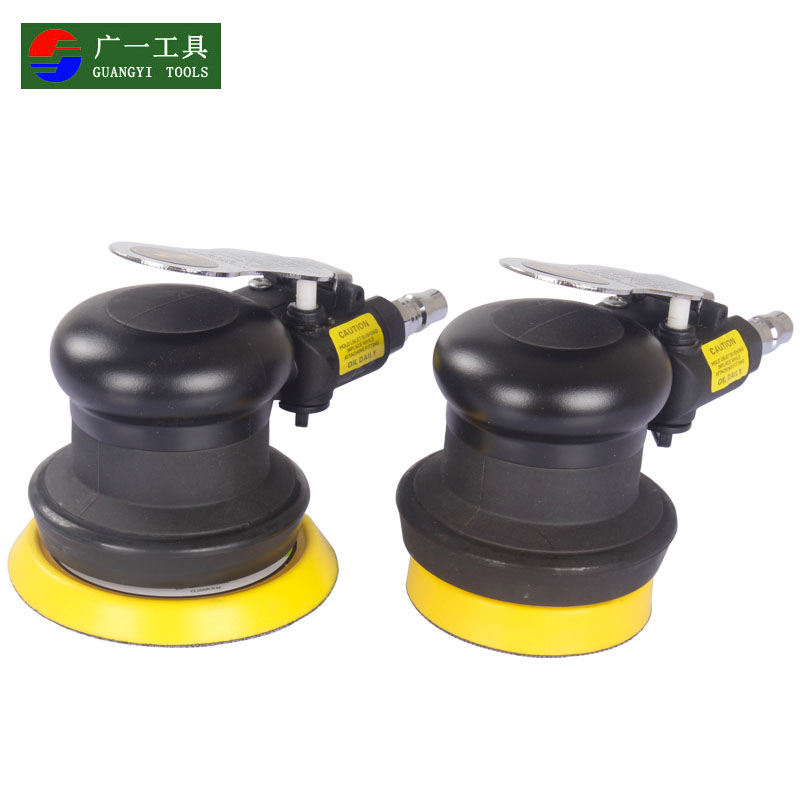 Romantic 5 Inch High-speed Mini Pneumatic Sanding Machine Air Sander With Push Switch And Sanding Pad For Polishing Grinding Tools Power Tools