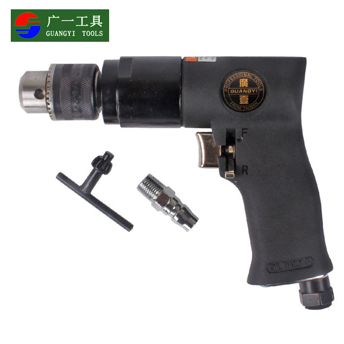 A wide taiwan 3/8 gunmen type 10mm industrial pneumatic air drill pneumatic drill drill drill with reversing machine