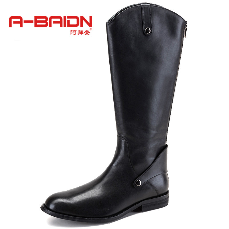 Abaidn/o biden sets foot men's daily trend of casual shoes england autumn and winter high boots men's 918