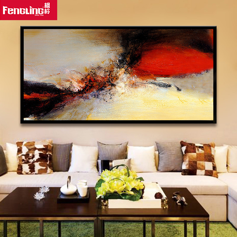 Sofa paintings abstract sofa menzilperde net for Abstract mural painting