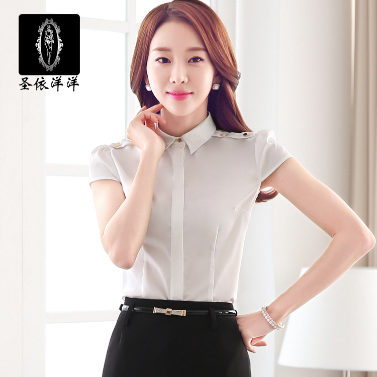 According to st. lengthy wear new women short sleeve shirt skirt ol career suits are tooling wear overalls summer