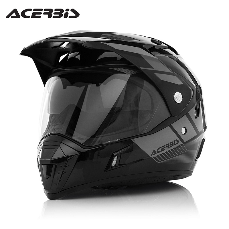 4a604dac Get Quotations · Acerbis/asif biscay imported italian motorcycle helmets  road rally helmet helmet 0021661