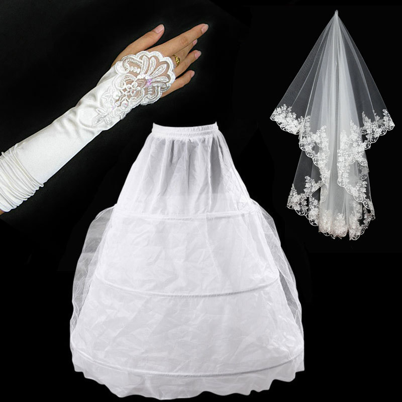 After the purchase of the door of the bride wedding, plus 108 yuan, you can get a copy of the package (panniers, veil , Gloves)