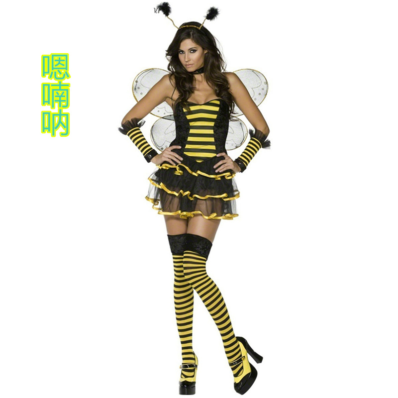get quotations ah nan na flower fairy elf bee halloween costume princess dress costumes ds role playing costumes
