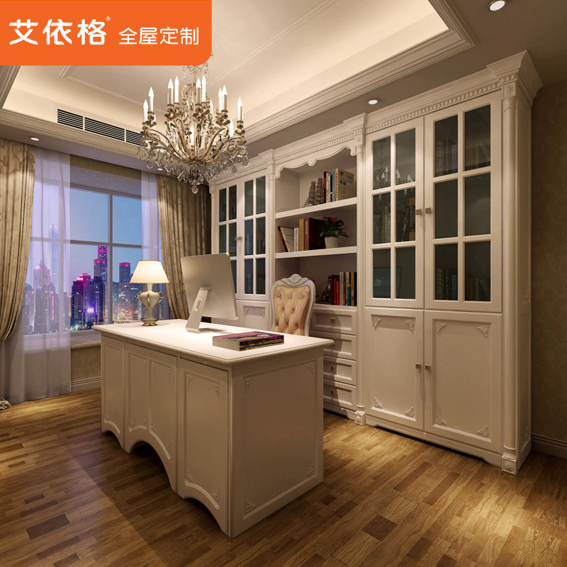 Get Quotations · Ai According To Gretl Customized Study Bookcase Desk  Combination Of Custom Furniture Custom Closet The Whole